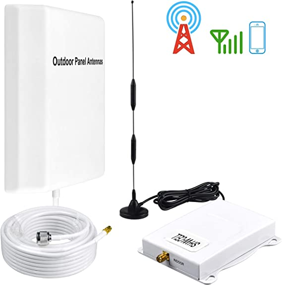 Cell Phone Signal Booster AT/&T T-Mobile 4G LTE Band12//17 Cell Signal Amplifier AT/&T Cell Phone Booster Repeater for Home Mobile Signal Booster SHWCELL with Indoor Whip Outdoor Omni Antenna Kits