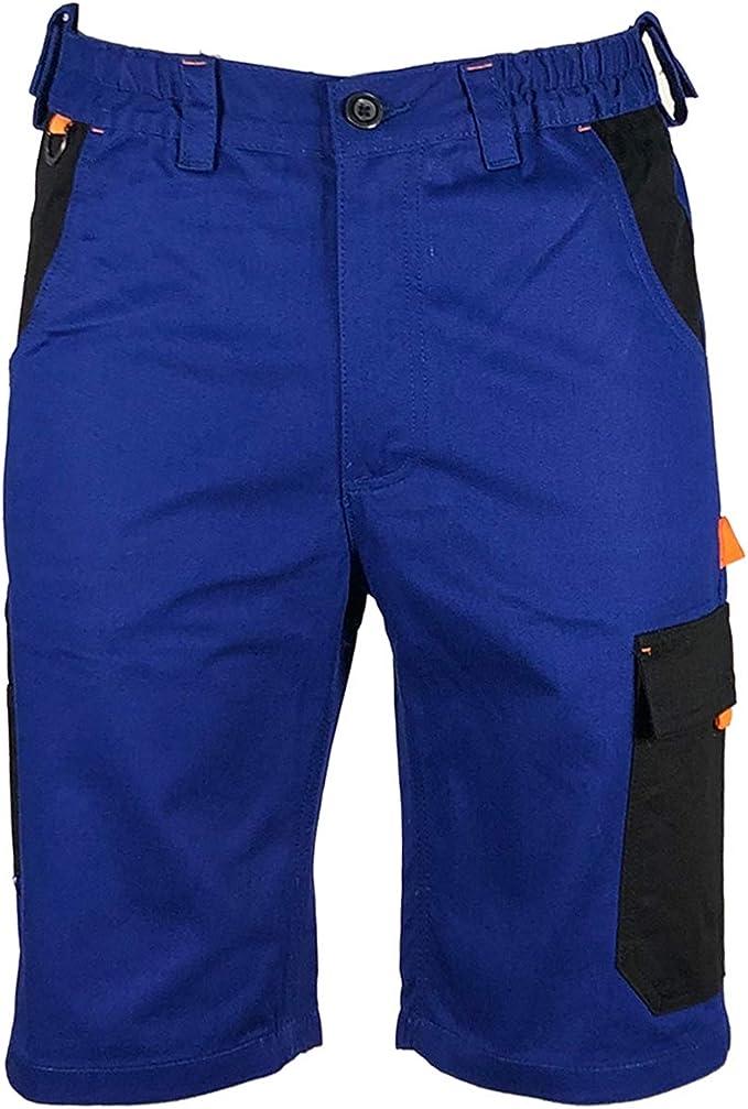 Men/'s Powerfix Durable Workwear Multipocket Cargo Combat Work Shorts