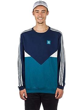 adidas Sudadera Premier Crew Hombre Azul Marino S: Amazon.es: Deportes y aire libre