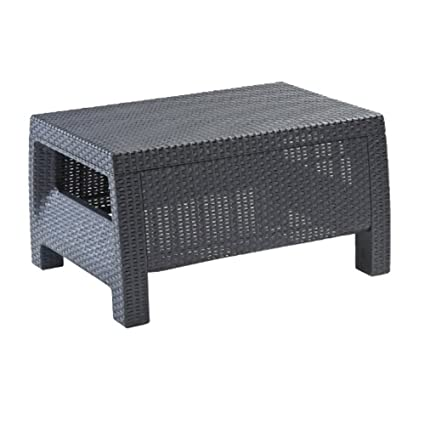 living spaces outdoor furniture country garden tsr small outdoor side coffee table for garden backyard living spaces rectangular wicker amazoncom