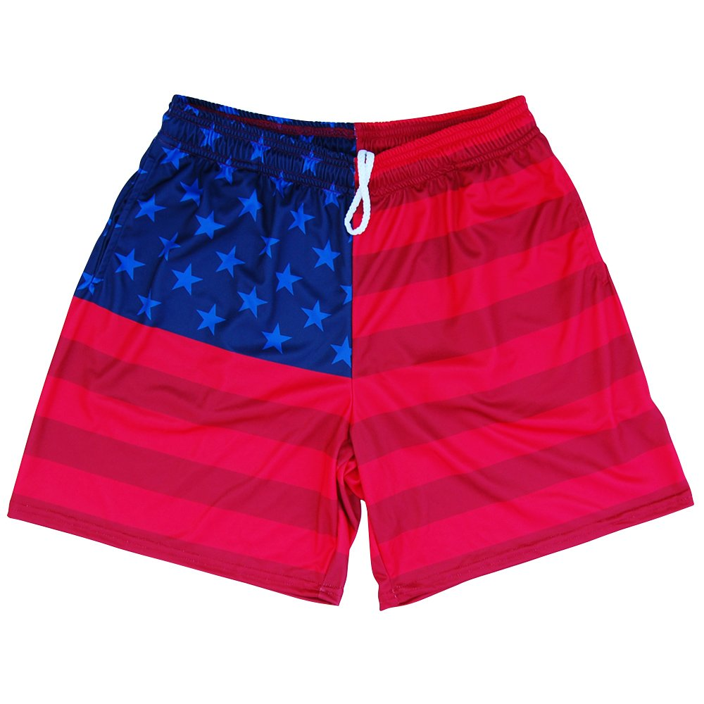 American Flag Olympiads Athletic Shorts