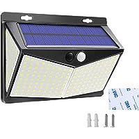 Solar Lights Outdoor, Waterproof Night Lights Wireless Motion Sensor LED Light 3 Modes 270° Wide Angle Lamp for Deck…