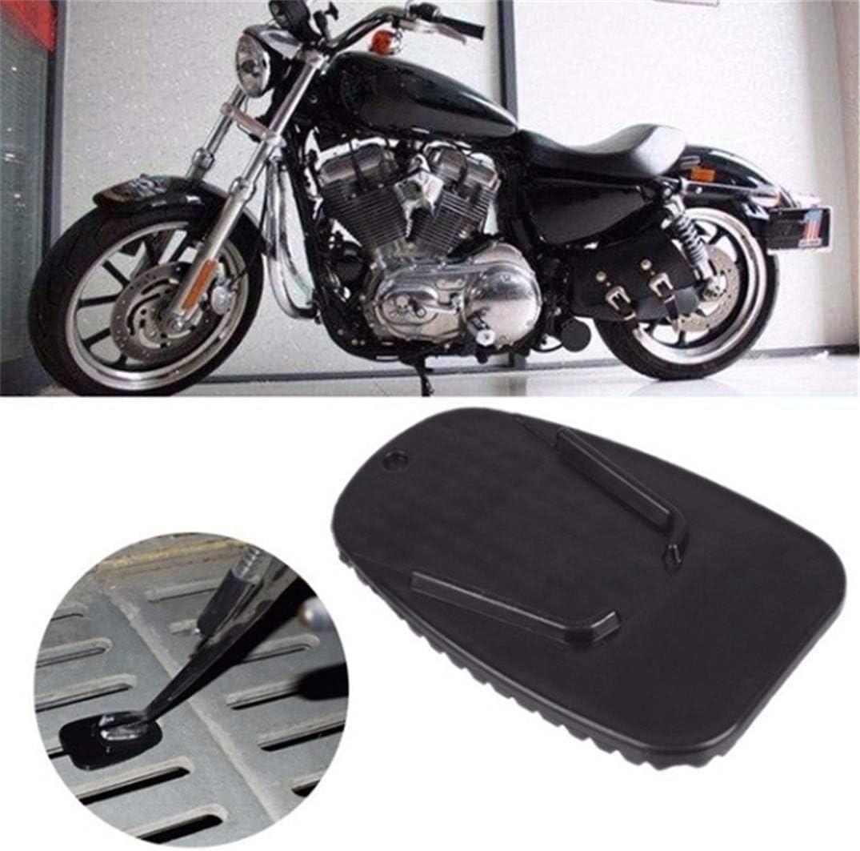 Joofff Motorrad-Kickst/änder Motorradhalterung Seitenst/änder Anti-Rutsch-Platte Motorrad Kickstand Pad Parkst/änder