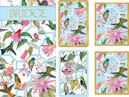(Caspari Entertaining Gift Set - 2 Score Pads & Bridge Tallies (Package of 24) (Hummingbird Trellis))