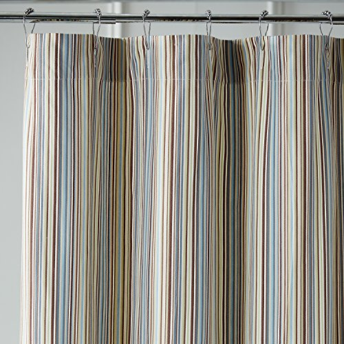 Pier 1 Imports Striped Shower Curtain in Marina Blue by Pier 1 Imports