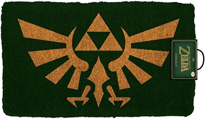 Pyramid America The Legend of Zelda Crest - Felpudo para ...