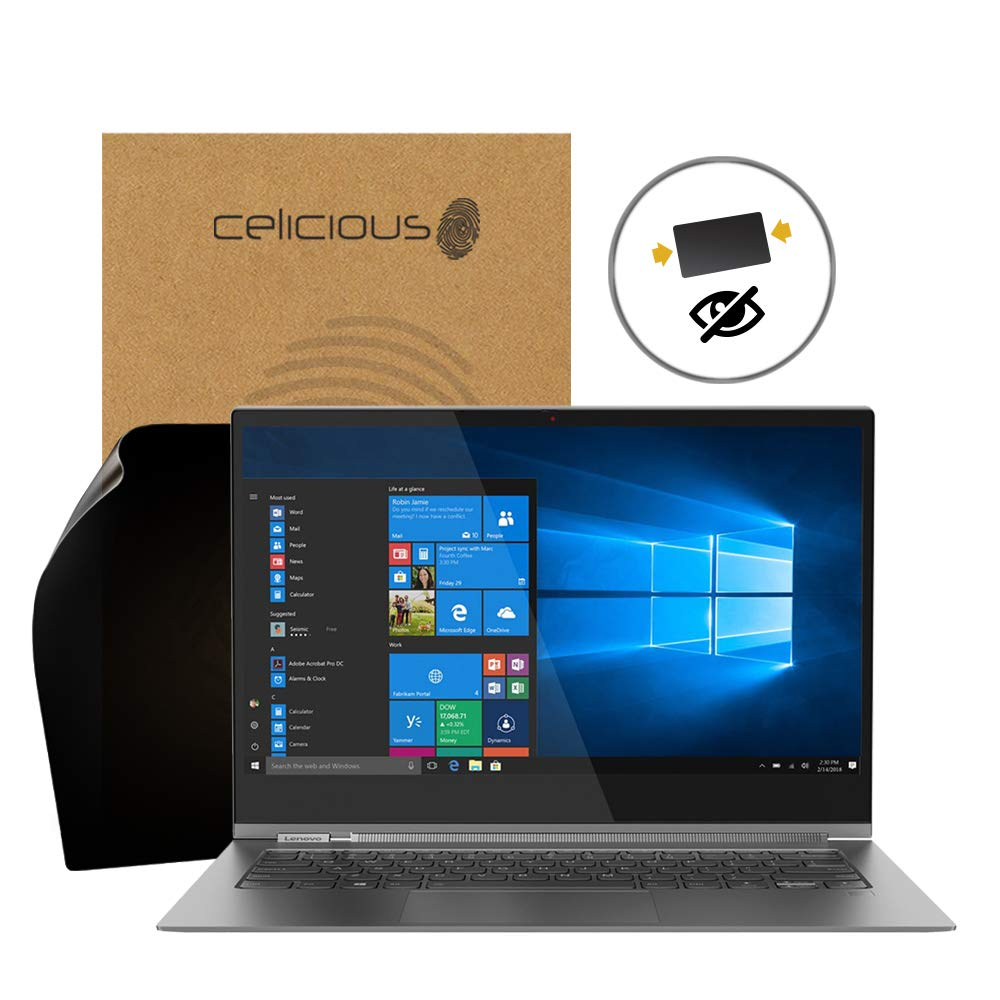 Celicious Privacy 2-Way Anti-Spy Filter Screen Protector Film Compatible with Lenovo Yoga C930 13.9