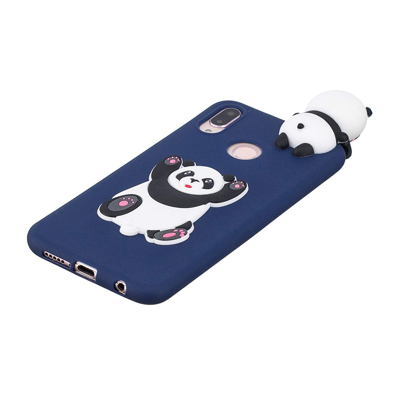 Unicornio Unicorn HopMore Funda Huawei P20 Lite Silicona Motivo 3D Divertidas Panda Animal Carcasa TPU Gel Ultrafina Slim Case Antigolpes Caso Protecci/ón Flexible Cover Design Gracioso