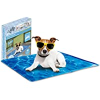 AFP Pet Cooling Mat Dog Cooling Pad Self Cooling Cushion Keeping Pets Cool Summer Sleeping Mat 50 x 40CM (M)