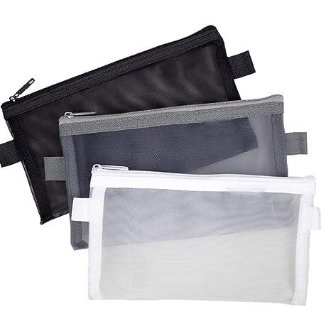 Amazon.com: Bolsa de malla para lápices, bolsas de ...