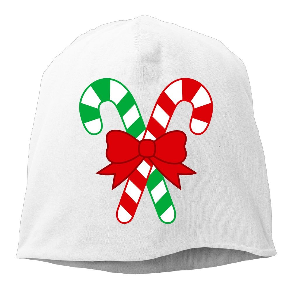 Fashion Solid Color Christmas Clip Art Candy Love Hedging Cap for Unisex Black One Size