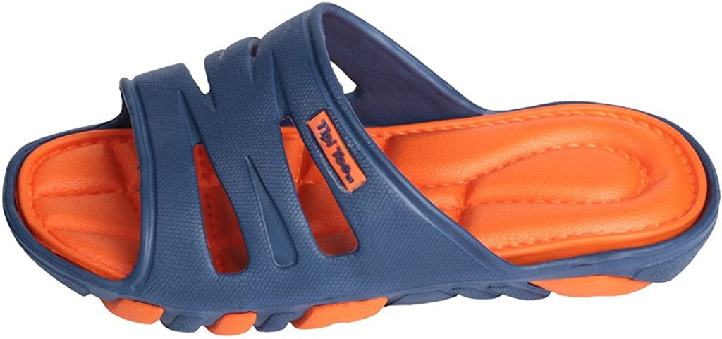 Tipi Toe Shaggy Slide Beach Flip Flop Sandal in Fun Colors