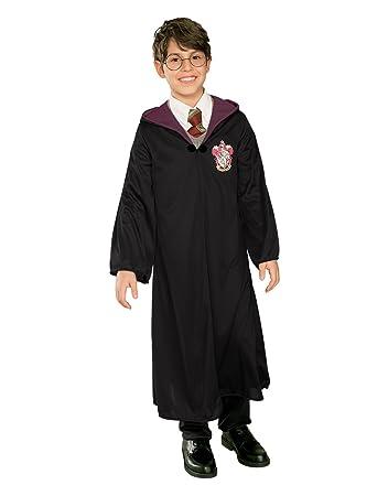 Harry Potter Costume Kids Wizard Hooded Robe Large Age 8 - 10 years  sc 1 st  Amazon UK & Harry Potter Costume Kids Wizard Hooded Robe Large Age 8 - 10 ...