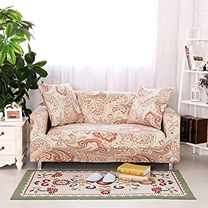Yiwant Stretch Couch Covers Sofa Slipcovers Fitted Loveseat Cover Seat  Furniture Protector, Loveseat(2