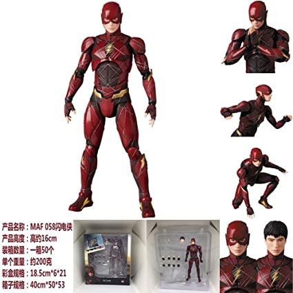 Super Hero Justice League Flash Action Figure Toys Doll Collection Gift with Box