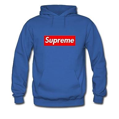 nuovo concetto 7b0d6 6303c Supreme Box Logo per Uomo con Cappuccio Felpe Pullover ...