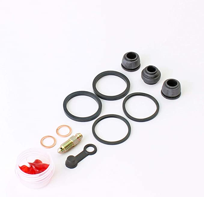Brakecrafters Rear Brake Caliper Rebuild Seal and Stainless Steel Piston Kit BC22HPSS