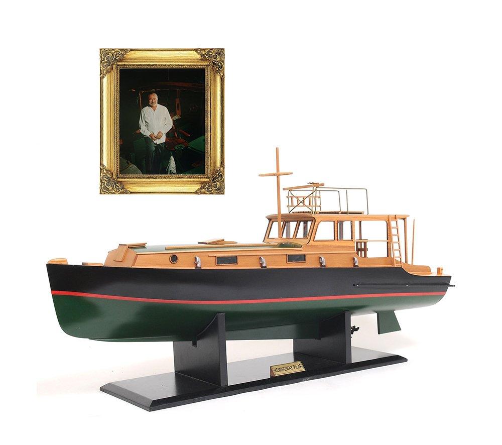 Old Modern Handicrafts Hemingway Pilar Boat Collectible