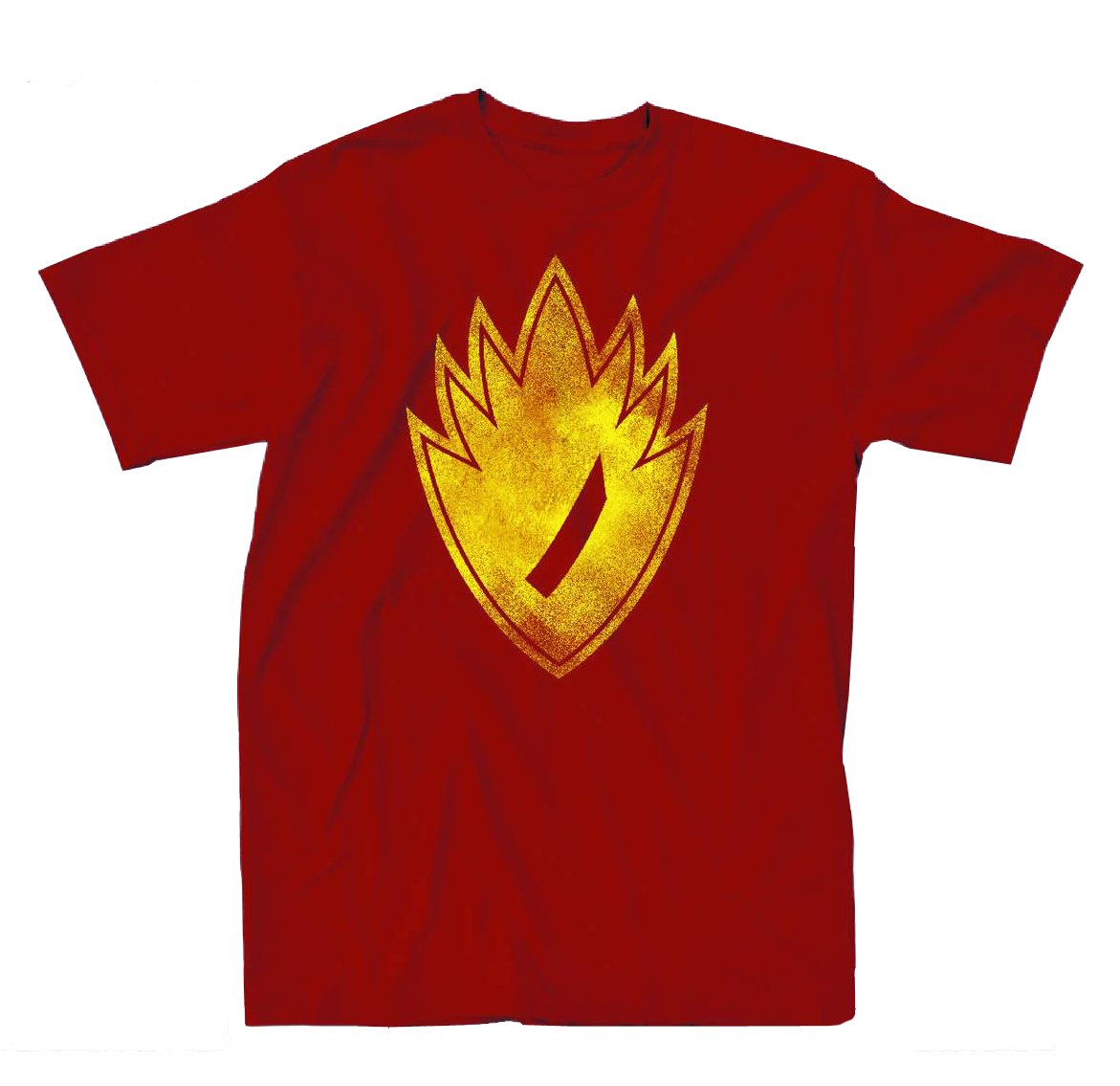 Guardians Of The Galaxy Neon Symbol Mens Red T-Shirt | XXL