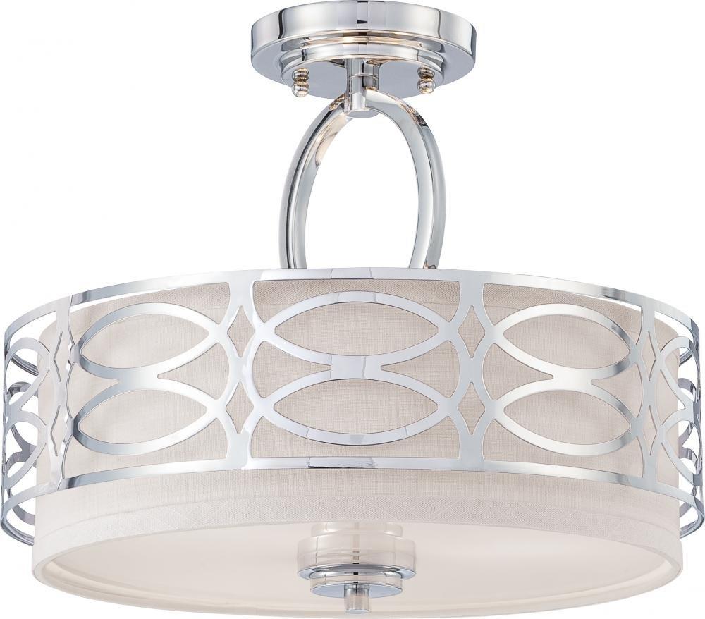 nuvo lighting two light flush mount flush mount ceiling light fixtures amazoncom
