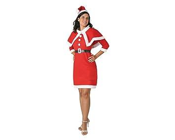 Atosa - B/s disfraz mamá noel. adulto t-2: Amazon.es: Juguetes y ...