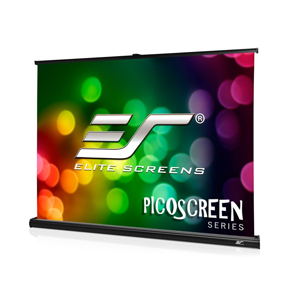 Elite Screens Pico Series, 45-INCH, 4:3, Light-Weight Portable Table-Top Pull-Up Office/Home Movie/ Theater/ Office Projector Screen, 8K / ULTRA HD, PC45W, 2-YEAR WARRANTY