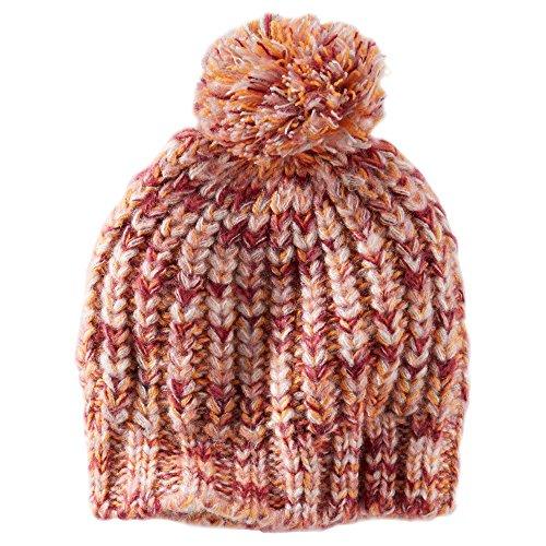 Oshkosh B'gosh Big Girls' Knit Pom Pom Hat (4-6X, Kids, -