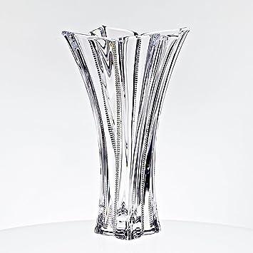 Amazon Exclusive Glass Vase Flower Vase City Diamonds 36 Cm
