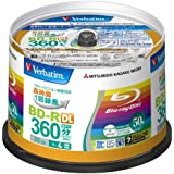 50 Verbatim Double Layer 3d Blu Ray Rohlinge 50 gb Full Printable Bluray