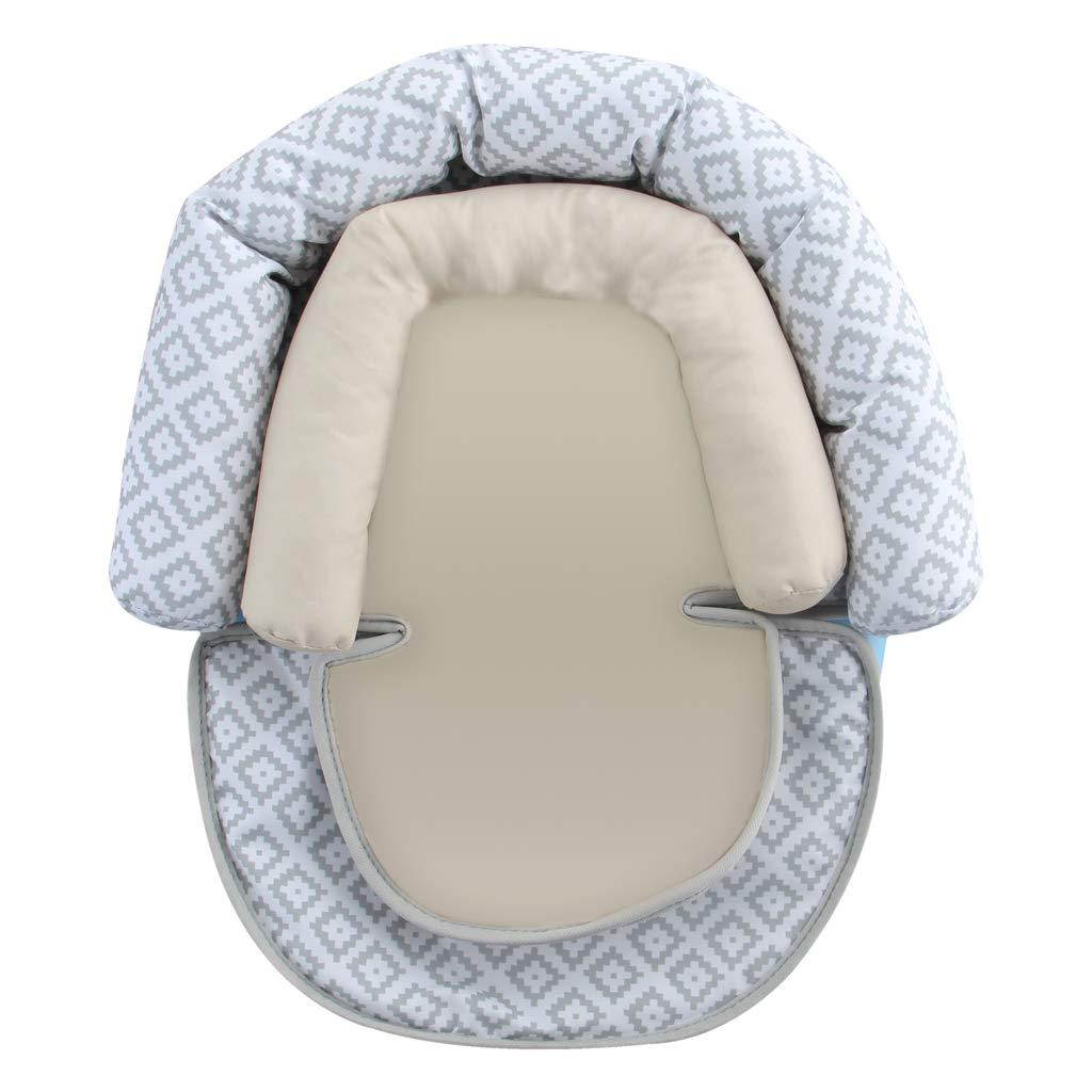 Cloud vocheer Baby Stroller Cushion Baby Head Support Pillow Newborn Car Seat Insert with Neck Support for Baby Car Seat and Strollers