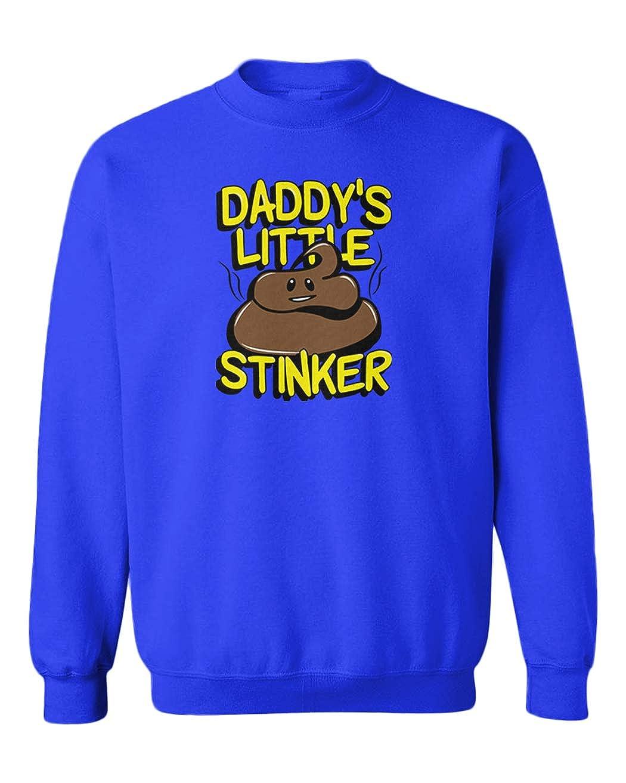 Tcombo Daddys Little Stinker Funny Humor Youth Fleece Crewneck Sweater