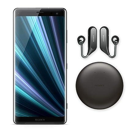 Sony Xperia XZ3 Unlocked Smartphone - Xperia Ear Duo (Bundle), 64GB - 6 0