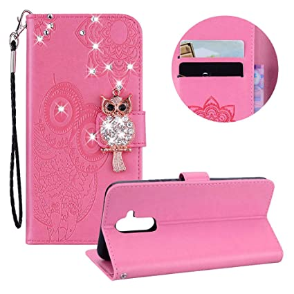 Phone Bags & Cases Flip Cases Original For Cover Huawei Mate 20 Lite Case Owl Flip Leather Case For Huawei Mate 20 Lite Wallet Cover Huawei Mate 20 Pro Phone Bag Case