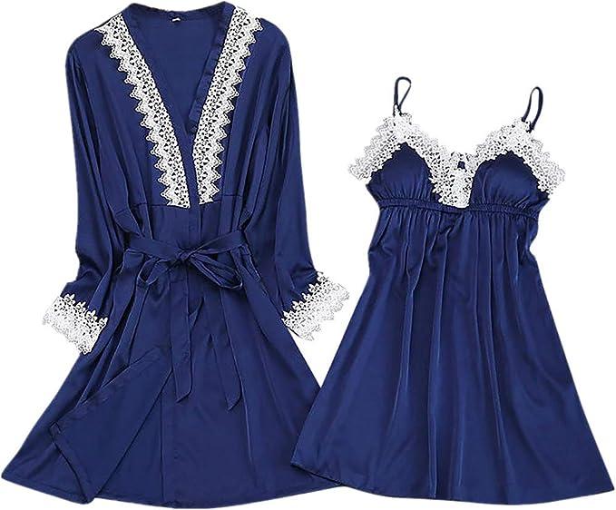 Damenmode Nachtwasche Kleid Nachthemd Zuhause Schlafanzug Damen Dessous Kleidung Sling Kleidung Accessoires