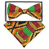 African Kente Print, Vest Set