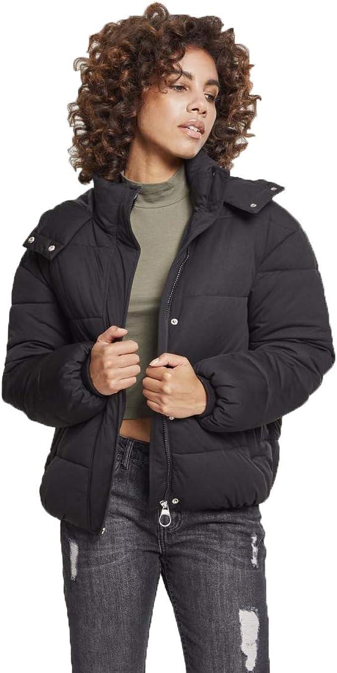 Urban Classics Damen Daunenjacke Winterjacke Ladies Boyfriend Puffer Jacket Jacke