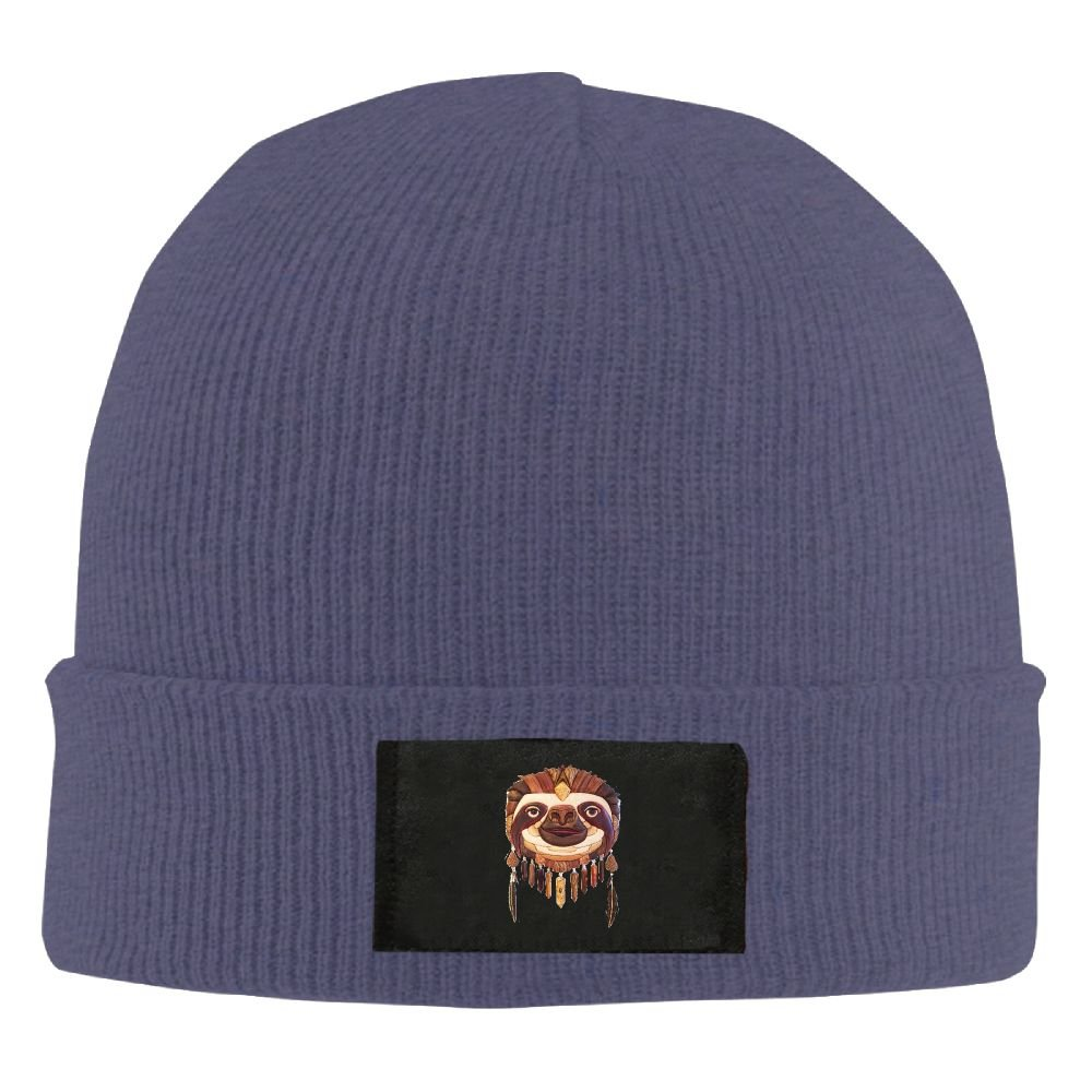1f12eb4be21 WLF Unisex Indonesia Style Sloth Fashion Warmth Four Colors Beanie Hats  Skull Cap at Amazon Men s Clothing store