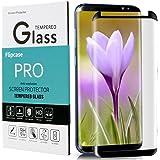 Galaxy S8 Screen Protector,Samsung Galaxy S8 Tempered Glass,Flipcase[Case Friendly][Anti-Bubble][3D Curved Glass] Tempered Glass Screen Protector for Samsung Galaxy S8