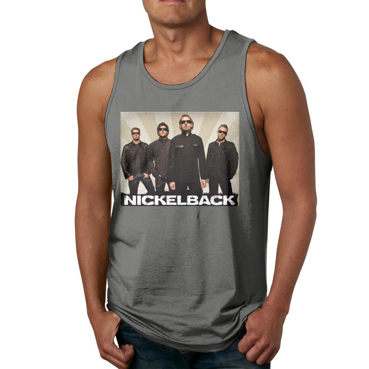 Sport Gym Tank Tops Nickelback Sleeveless T Shirts
