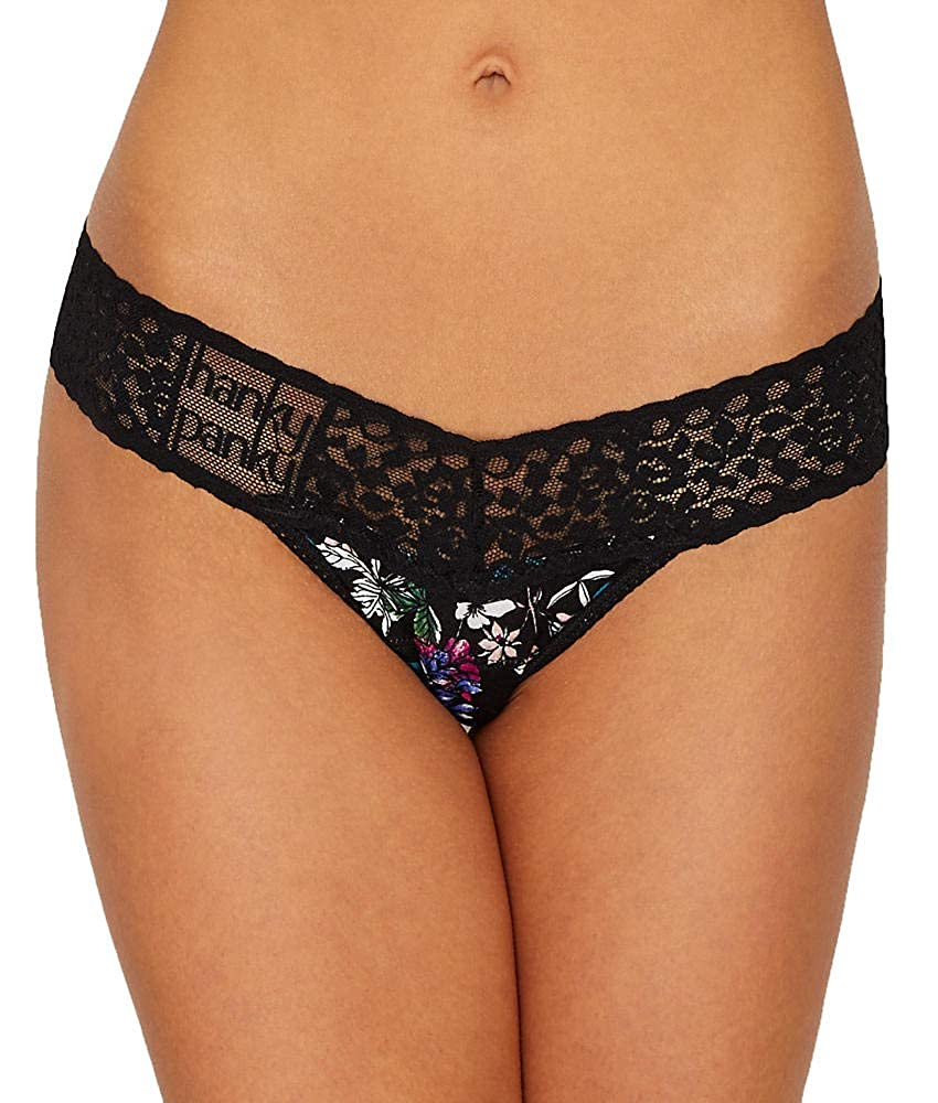 Hanky Panky Violets are Blue Low Rise Thong One Size Multi 621584