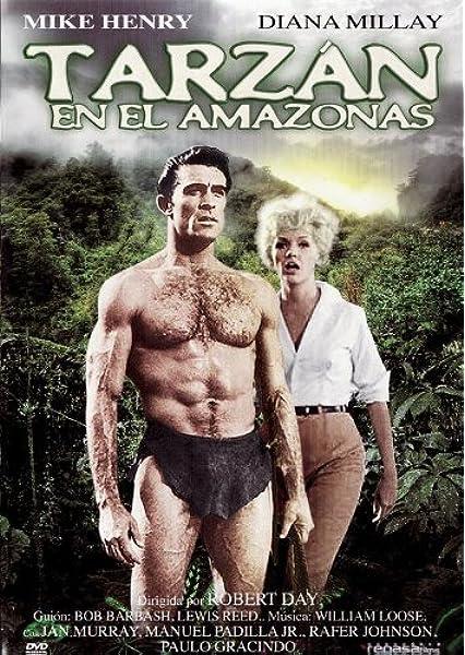Tarzan en el amazonas [DVD]: Amazon.es: Mike Henry, Diana ...