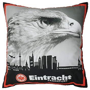 Eintracht Frankfurt Schlicht Kissen 40x40cm