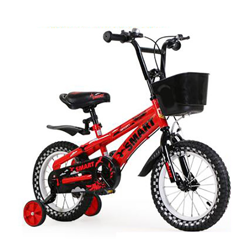 子供用自転車3-6-8歳の男の子と女の子マウンテンバイク12 14インチベビーペダル自転車赤白緑 B07DYHCTNW 14 inch|白 白 14 inch