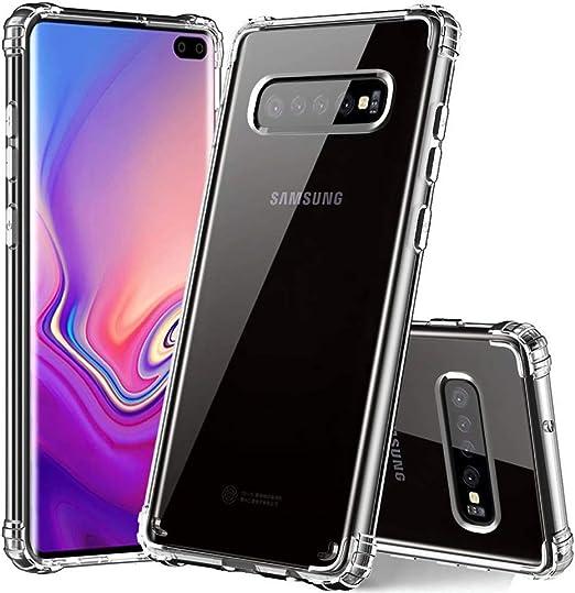 Coque de protection antichoc pour Samsung Galaxy S10 Plus.