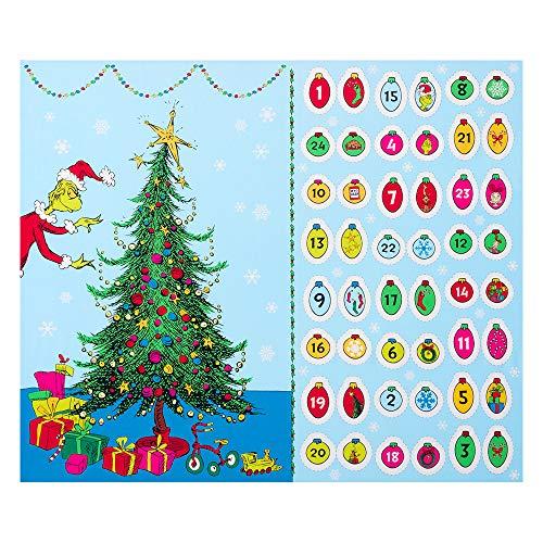 Kaufman How The Grinch Stole Christmas Advent Calendar 36in PanelHoliday Fabric