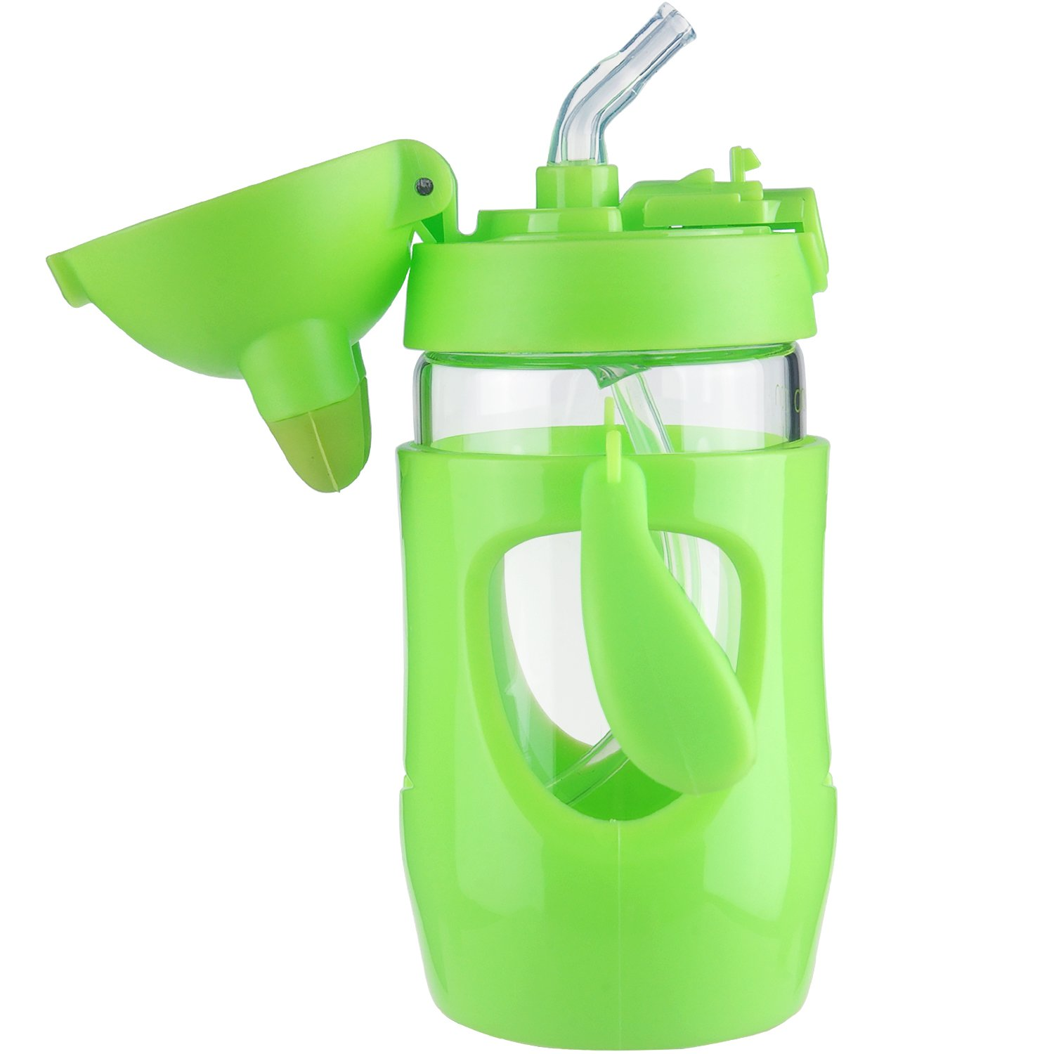 480ml Kids Water Spill Proof Bottle Plastic Water Glass Sports Bottle Nice @sh