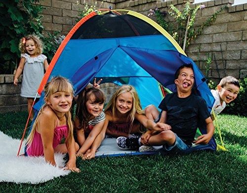 "Pacific Play Tents Super Duper 4 Kid Dome Tent for Indoor / Outdoor Fun - 58"" x 58"" x 46"""
