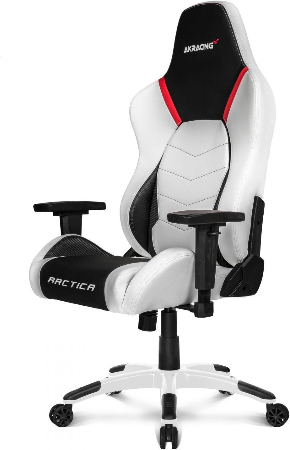 weißer gaming stuhl