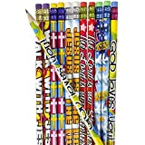 12 Dozen (144) RELIGIOUS Pencils - PENCILS #2 Lead - CLASSROOM Rewards TEACHER VBS Education JESUS GOD Loves Me VACATION BIBLE SCHOOL
