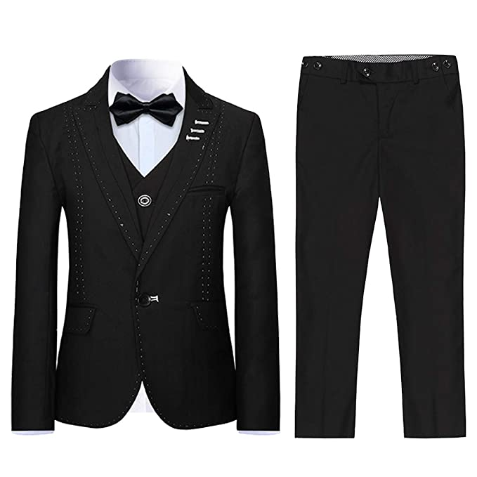 Amazon.com: Boyland - Traje formal para niños, ajustado, 3 ...